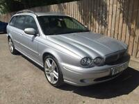 2007 07 Jaguar X-TYPE 2.2D S ESTATE 155 BHP 6 SPEED 48k 57.7 MPG P/X