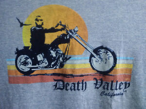 Large T-Shirt Death Valley California Motorcycle Prince George British Columbia image 2
