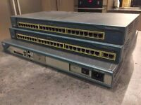 Cisco Lab 2811 Router 2x 2950 Switch CCNA CCENT