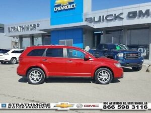 2014 Dodge Journey R/T-V6-7 Pass-Leather heated-Nav to activate-