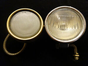 Vintage Cowl Lights - Circa 1930 - YOUR CHOICE