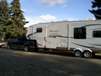 2008 Ford F350 Diesel Truck and 2008 Denali 5th wheel for sale