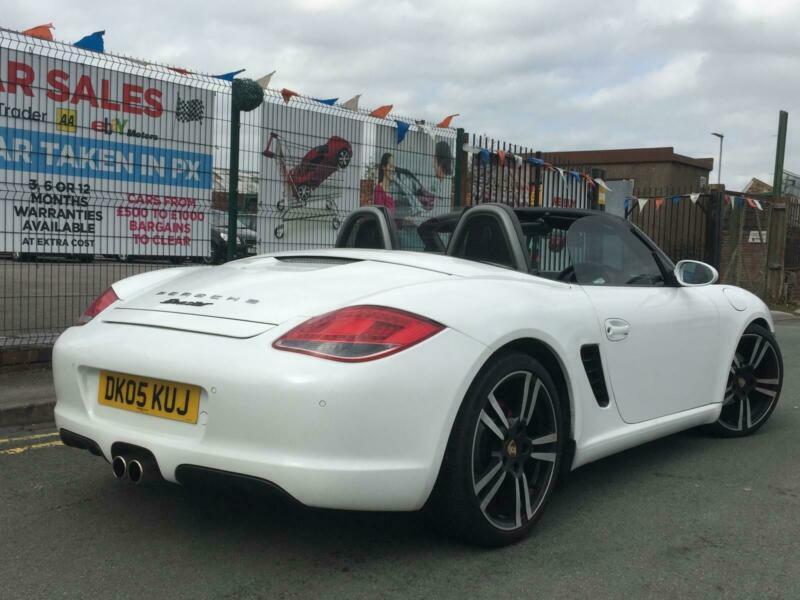 Porsche Boxster 2 7 987 Convertible Pearl White Low 65 233 Miles Mega Spec