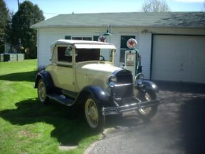 model A  coupe sport