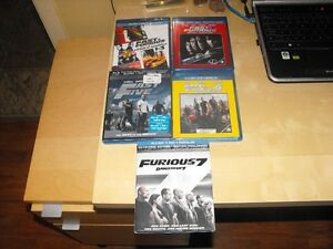 Blu-ray fast and furious 1-2-3-4-5-6-7 West Island Greater Montréal image 1