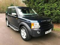 2006 LAND ROVER DISCOVERY 3 S 2.7 TDV6 AUTOMATIC 4X4 7 SEATER TURBO DIESEL