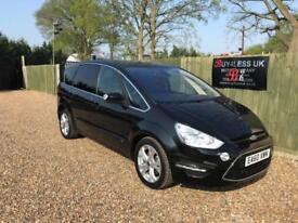 2010/60 Ford S-MAX 2.0TDCi 140 Powershift Titanium 7 Seater FSH P/X Welcome
