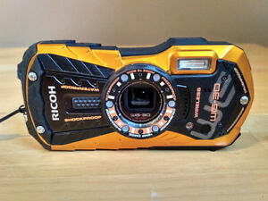 "Ricoh WG-30W Digital Camera 2.7"" LCD"