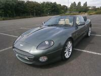 ASTON MARTIN DB7 V12 5.9 AUTO VANTAGE VOLANTE CONVERTIBLE IN CHILTERN GREEN