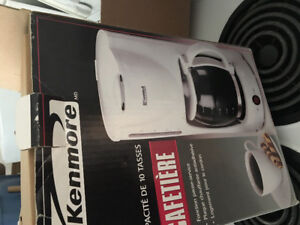 Kenmore brand new 10 cup coffee maker