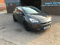 2015 VAUXHALL CORSA 1.4 EXCITE 3 DR AUTOMATIC 6 SPEED,ONLY 800 MILES FROM NEW.