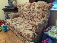 Love seat and Futon for sale