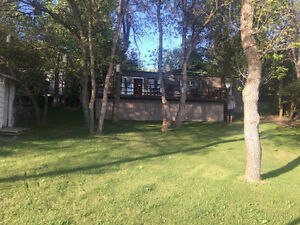 Lake Front Buffalo Pound Cottage for Sale