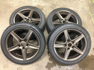 "17"" 8J 9J Speedline Mag R Rims Wheels OZ Saleen ROH BBS"