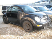 LAST CHANCE 1999 VW BEETLE FOR PARTS @ PICNSAVE WOODSTOCK