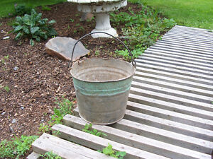 Antique Bucket - Makes a Great Planter