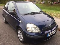 2003 TOYOTA YARIS T3 1.0L PETROL 3 DOOR ONE FORMER KEEPER FULL TOYOTA SERVICE HISTORY LOW MILEGE****