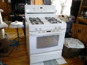 Kenmore Gas Powered Self Cleaning Stove, Warm & Ready To Go!