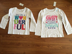 BNWT girls tops, $8 for both