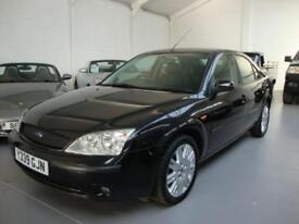 Ford Mondeo 2.0i Ghia X Auto 5-Dr, 2001, Only 59000 Miles with FSH, Black