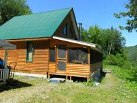 Restigouche River Chalet/Cottage & Land for sale