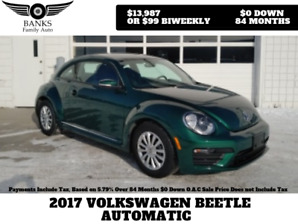 2017 VOLKSWAGEN BEETLE AUTOMATIC PRICED TO SELL!
