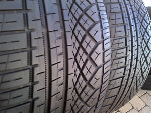 2 CONTINENTAL EXTREME CONTACT DWS 265/30/22 97Y XL M+S TIRES 90%