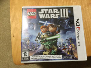 LEGO starwars 3 for 3DS