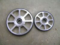 BULLIT IDLER WHEELS FOR YAMAHAS will fit other sleds