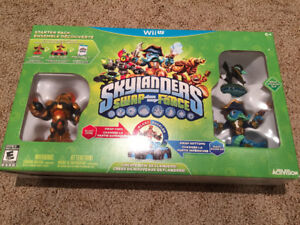 Nintendo Wii U Skylanders Swap Force Game