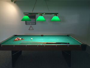 Pool Table with light and accesories Peterborough Peterborough Area image 6