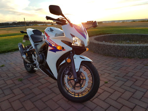 CBR500r ABS 2013 with new tires and accessories