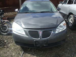 PARTS AVAILABLE FOR A 2006 PONTIAC G6