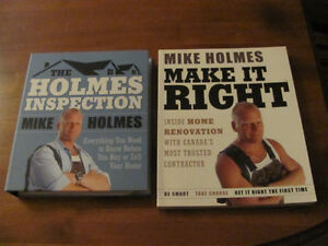 MIKE HOLMES CONSTRUCTION BOOKS