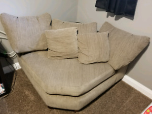 Love seat from the Brick