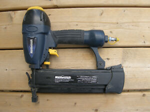 Mastercraft Air-powered Finishing Nailer #8-8489-4