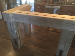 hand crafted timber frame islands and bars Cambridge Kitchener Area image 2