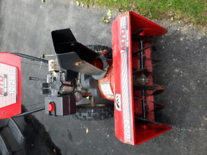 10 h.p. snowblower with electric start  $425