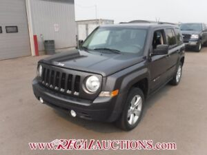 2015 JEEP PATRIOT NORTH 4D UTILITY 4WD 2.4L NORTH