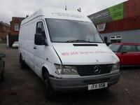 MERCEDES SPRINTER 412D + TWIN WHEELS + LWB + HIGH ROOF