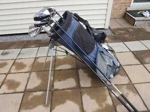 Set of Wilson and Goliath Irons, Callaway Drivers, Bag, Gloves