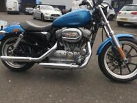 Harley-Davidson XL 883 L SUPERLOW, we buy bikes upto 15 years old, 150 in stock
