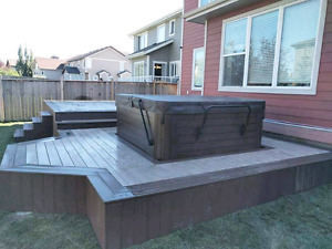 YOUR DECK & FENCE SPECIALIST!! We accept Visa - Master Card