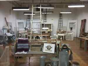 Wooden ladders, harvest tables, sap pails, watering cans, doors  Cambridge Kitchener Area image 1