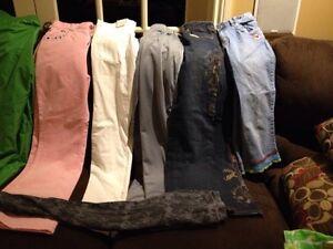Variety of girls pants - size 14/16 Kingston Kingston Area image 3
