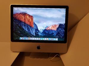 iMac 20 po. Mi-2007 - usagé mais fonctionne bien