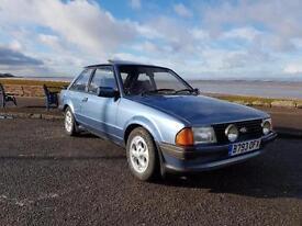 FORD ESCORT XR3I, Blue, Manual, Petrol, 1984