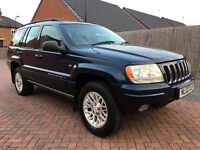 Jeep Grand Cherokee 2.7 CRD LIMITED (blue) 2002