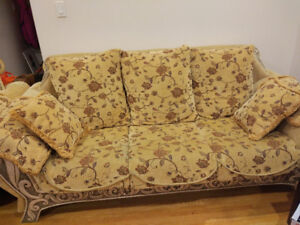 3 pieces sofa/couch set