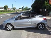 2004 PEUGEOT 206 CC QUIKSILVER 1.6 PETROL CABRIOLET FANTASTIC LITTLE SUMMER CAR